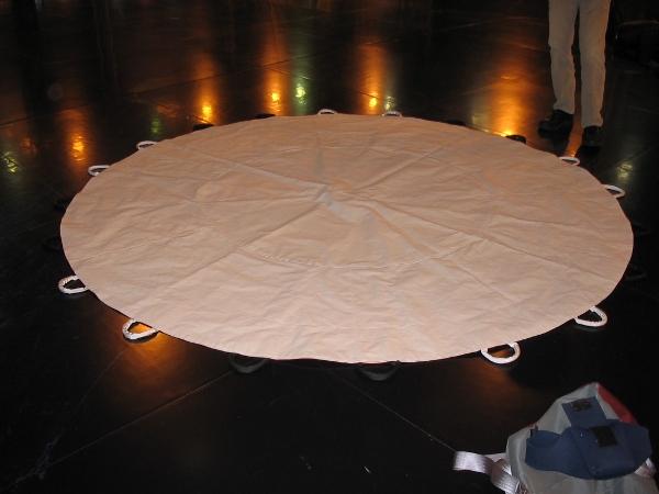 Équipement de réception - Kooza (Cirque du Soleil)