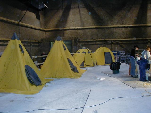 Tentes en studio - The day after tomorrow