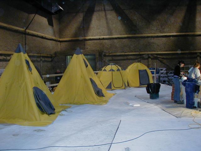 Tentes en studio - The day after tomorrow